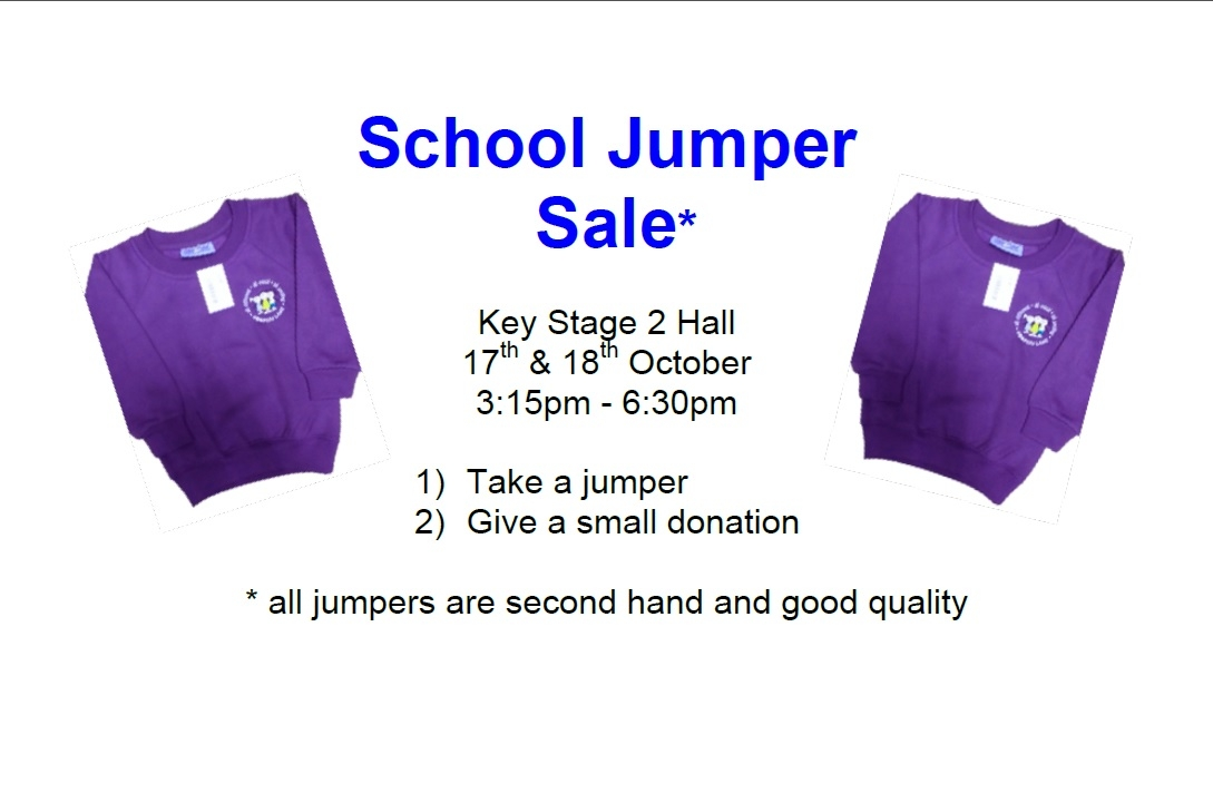 School Jumper Sale