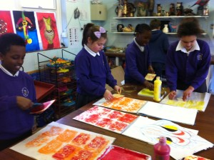 Art club – block printing
