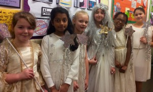Fairy and attendants